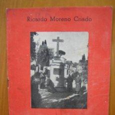 Carteles de Turismo: LAS ERMITAS DE CÓRDOBA POR RICARDO MORENO CRIADO 1944. Lote 118369451