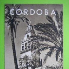 Carteles de Turismo: GUÍA MONUMENTAL DE CORDOBA. Lote 120240531
