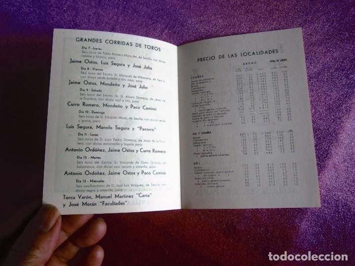 Carteles de Turismo: SAN FERMÍN 1960, CARTEL TOROS PAMPLONA FERIAS Y FIESTAS C16 - Foto 4 - 122459747