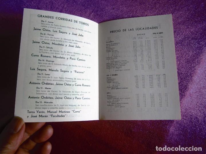 Carteles de Turismo: SAN FERMÍN 1960, CARTEL TOROS PAMPLONA FERIAS Y FIESTAS C16 - Foto 5 - 122459747