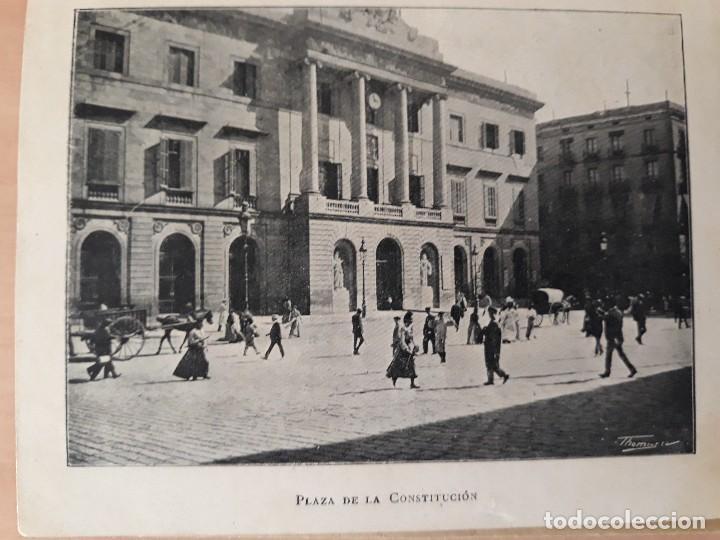 Carteles de Turismo: Barcelona 4 fotogramas informacion y precios muy antiguos - Foto 3 - 124612463