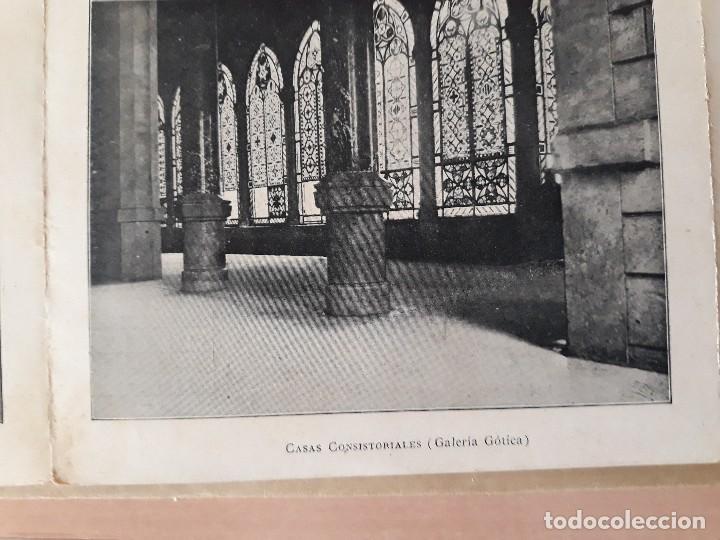 Carteles de Turismo: Barcelona 4 fotogramas informacion y precios muy antiguos - Foto 4 - 124612463