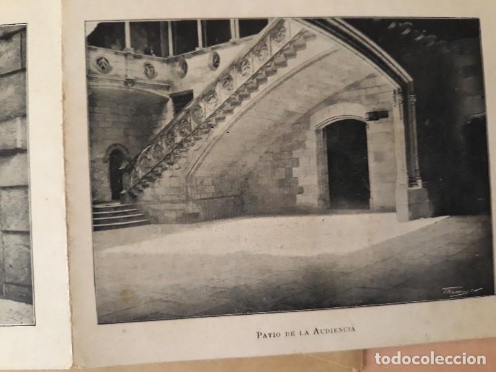 Carteles de Turismo: Barcelona 4 fotogramas informacion y precios muy antiguos - Foto 5 - 124612463