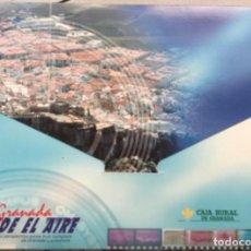 Carteles de Turismo: GRANADA DESDE EL AIRE - EDITADO POR EL DIARIO IDEAL Y CAJA RURAL. CON ARCHIVADOR CON 186 LÁMINAS. Lote 125990495