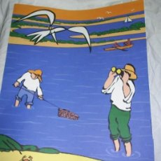 Carteles de Turismo: OSCAR MARINÉ/CHRISTIAN BOYER. CARTEL TURISMO PROTOTIPO FIESTAS DE HUELVA. 1995. Lote 128009099