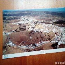 Carteles de Turismo: LA PROVINCIA DE CÁDIZ A VISTA DE PÁJARO. OLVERA. EST22B1. Lote 128653183