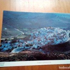Carteles de Turismo: LA PROVINCIA DE CÁDIZ A VISTA DE PÁJARO. TORRE ALHÁQUIME. EST22B1. Lote 128653299