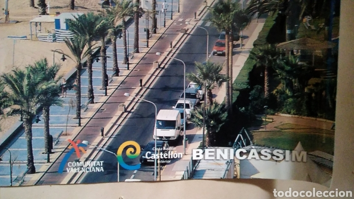 Carteles de Turismo: Bonito póster lámina benicassim Castellón playa costa azahar año 2006 / 45 x 67,5 cm - Foto 2 - 129536124