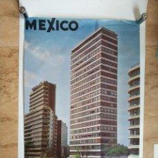 Carteles de Turismo: ANTIGUO CARTEL POSTER MEXICO CONSEJO NACIONAL DE TURISMO - LEO. Lote 130650273