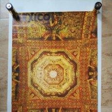 Carteles de Turismo: ANTIGUO CARTEL POSTER MEXICO CONSEJO NACIONAL DE TURISMO - LEO. Lote 130650288