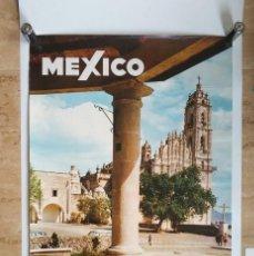 Carteles de Turismo: ANTIGUO CARTEL POSTER MEXICO TEPOTZOTLAN CONSEJO NACIONAL DE TURISMO - LEO. Lote 130650303