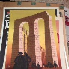 Carteles de Turismo: DELPY 1950 ORIGINAL. ESPAÑA. SPAIN. Lote 130974332