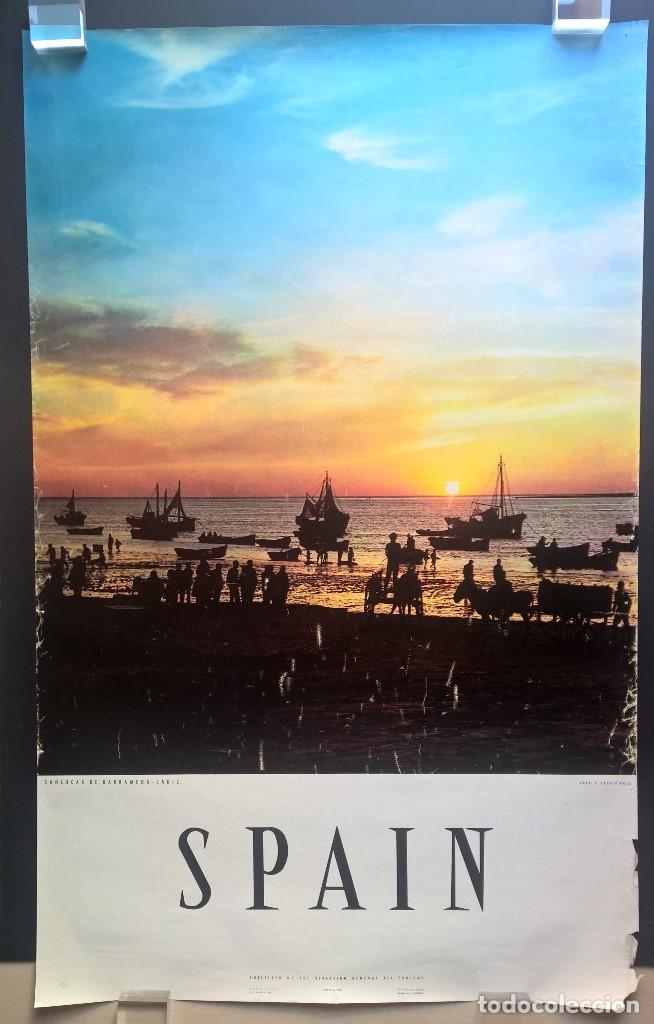 SANLÚCAR DE BARRAMEDA. CÁDIZ. ESPAÑA. SPAIN. DIRECCIÓN GENERAL DE TURISMO. (Coleccionismo - Carteles Gran Formato - Carteles Turismo)