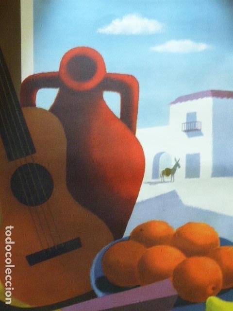 Carteles de Turismo: CARTEL DE TURISMO DE ESPAÑA. DIBUJADO POR GUY GEORGET. FOURNIER. 62 X 97 CM APROX. AÑOS 50-60. - Foto 3 - 133808394