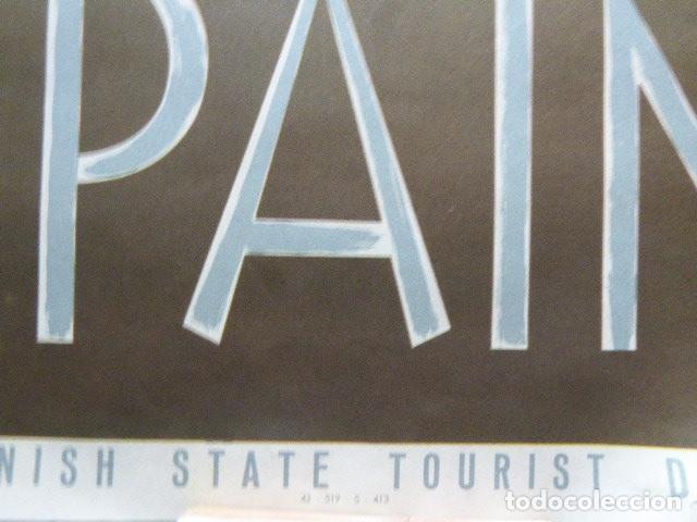 Carteles de Turismo: CARTEL DE TURISMO DE ESPAÑA. AVILA ?DIBUJADO POR DELPY. FOURNIER. 62 X 97 CM APROX. AÑOS 50-60. - Foto 2 - 133810454