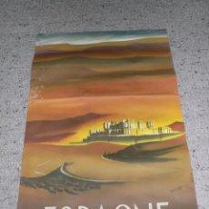 Carteles de Turismo: ANTIGUO CARTEL TURISMO ESPAGNE DE DELPY.IMP.FOURNIER. Lote 134625854