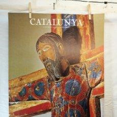 Carteles de Turismo: GENERALITAT DE CATALUNYA. MAJESTAT BATLLÓ, MUSEU DE ARTE,AÑO 1979.. Lote 139449170