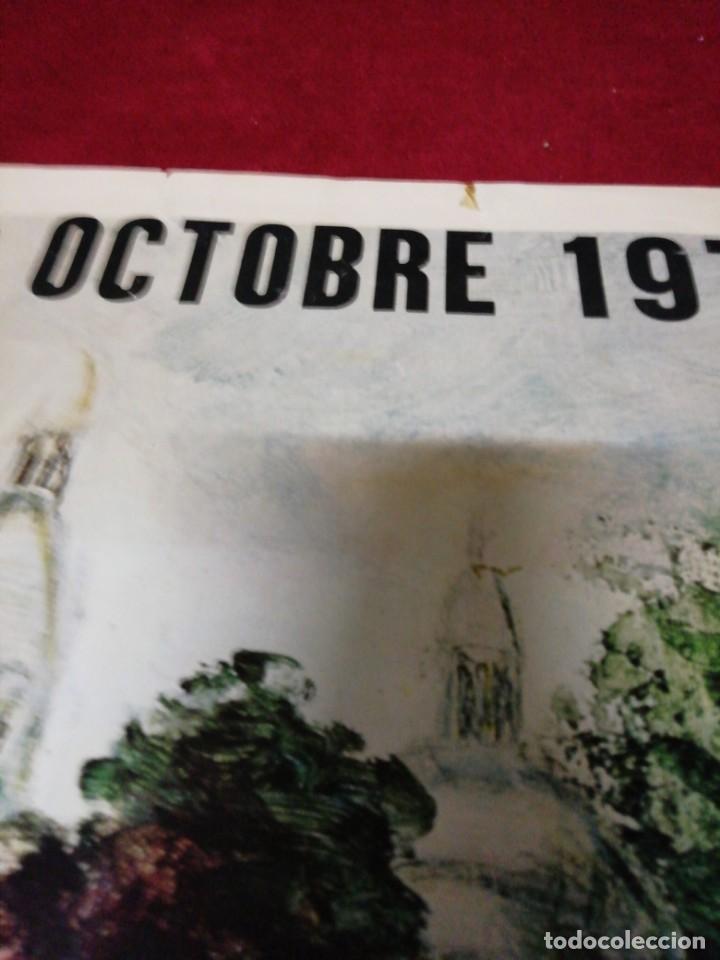 Carteles de Turismo: Antiguo cartel Vendances à Montmartre 1976 - Foto 2 - 139934502