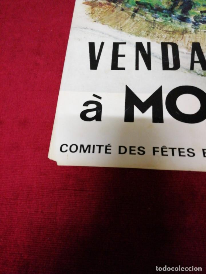 Carteles de Turismo: Antiguo cartel Vendances à Montmartre 1976 - Foto 3 - 139934502