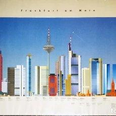 Carteles de Turismo: POSTER DE DISEÑO DE - FRANKFURT AM MAIN - STOLZ DESINGN 1984 TAMAÑO 85X60 CMS. Lote 140183830