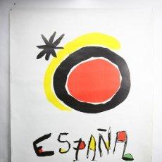 Carteles de Turismo: CARTEL / POSTER - SECRETARÍA GENERAL DE TURISMO / ESPAÑA - MIRÓ - AÑO 1985. Lote 141288846