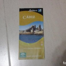 Carteles de Turismo: GUÍA PRÁCTICA DE CÁDIZ. PLANO. MAPA. TURISMO. ACM. Lote 145005162