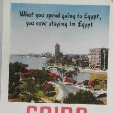 Carteles de Turismo: CARTEL DE TURISMO-CAIRO AÑO 1961. Lote 146417218