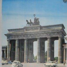 Carteles de Turismo: CARTEL PUBLICITARIO VISITA BERLIN ALEMANIA. Lote 146419334