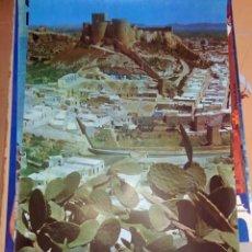 Carteles de Turismo: POSTER ORIGINAL ALMERIA ESPAÑA 1960S. Lote 150066182