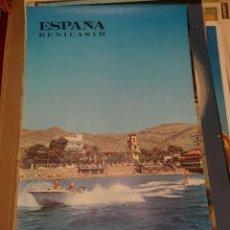 Carteles de Turismo: CARTEL VINTAGE POSTER ESPAÑA BENICASIM AÑOS 60. Lote 176240042