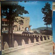 Carteles de Turismo: ESPAÑA PARADOR NACIONAL CONDE DE GONDOMAR BAYONA PONTEVEDRA. Lote 150067906