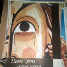 Carteles de Turismo: CARTEL HAVE YOU EVER SEEN SPAIN? MUSEO DE ARTE DE CATALUÑA. Lote 150071486