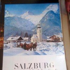 Carteles de Turismo: CARTEL POSTER SALZBURG - URLAUBSLAND DER LEBENSFREUDE OSTERREICH. Lote 150075654