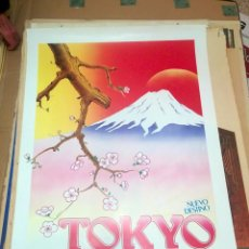Carteles de Turismo: CARTEL TOKYO IBERIA VINTAGE IBERIA. Lote 150076726