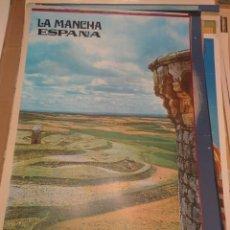 Carteles de Turismo: CARTEL POSTER LA MANCHA ESPAÑA. Lote 150082702