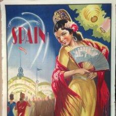 Carteles de Turismo: SPANISH FESTIVAL POSTER SPAIN POSTER. Lote 150093822