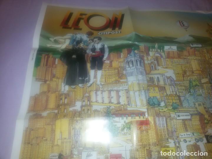 GRAN CARTEL LEÓN 89 (Coleccionismo - Carteles Gran Formato - Carteles Turismo)