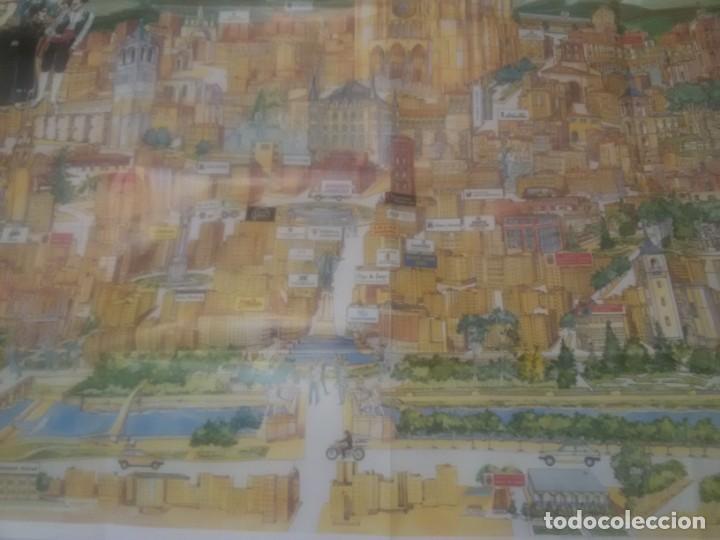 Carteles de Turismo: GRAN CARTEL LEÓN 89 - Foto 3 - 152335426