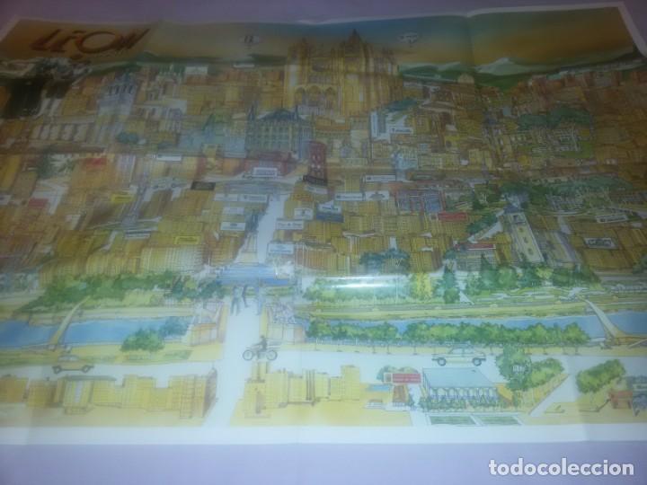 Carteles de Turismo: GRAN CARTEL LEÓN 89 - Foto 4 - 152335426