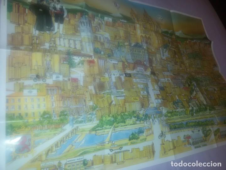 Carteles de Turismo: GRAN CARTEL LEÓN 89 - Foto 5 - 152335426
