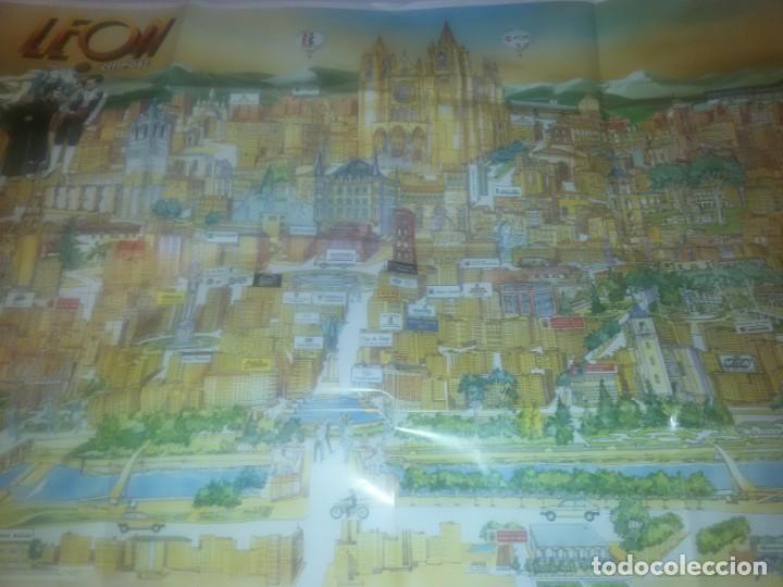 Carteles de Turismo: GRAN CARTEL LEÓN 89 - Foto 7 - 152335426