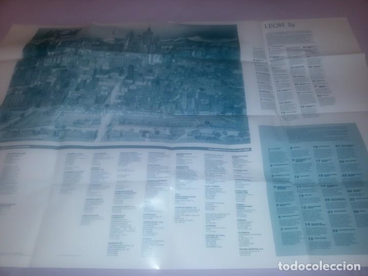 Carteles de Turismo: GRAN CARTEL LEÓN 89 - Foto 9 - 152335426