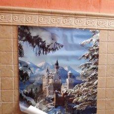 Carteles de Turismo: POSTER DEL CASTILLO DE NEUSCHWANSTEIN, BAVIERA.. Lote 155991066