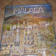 Carteles de Turismo: CARTEL DE MALAGA. EQUIPO 28 SEVILLA. 96X68 CM.. Lote 158854118