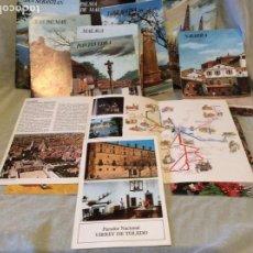 Carteles de Turismo: COLECCIÓN ESPAÑA MONUMENTAL CON INFORMACIÓN DE PARADORES.. Lote 159121806