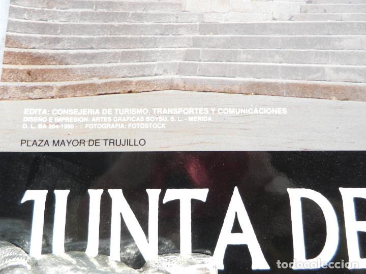 Carteles de Turismo: CARTEL FOTOGRAFÍA PLAZA MAYOR DE TRUJILLO - JUNTA DE EXTREMADURA FOTOSTOCK - MEDIDAS 68X48 CM. - Foto 2 - 160744110
