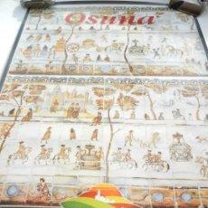 Carteles de Turismo: CARTEL DE OSUNA LA CAMPIÑA DE SEVILLA - AZULEJO DEL MONASTERIO DE LA ENCARNACIÓN - MEDIDAS 68X48 CM.. Lote 160744470