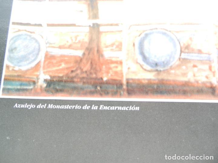 Carteles de Turismo: CARTEL DE OSUNA LA CAMPIÑA DE SEVILLA - AZULEJO DEL MONASTERIO DE LA ENCARNACIÓN - MEDIDAS 68X48 CM. - Foto 2 - 160744470