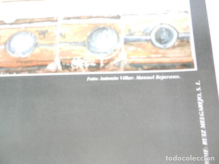 Carteles de Turismo: CARTEL DE OSUNA LA CAMPIÑA DE SEVILLA - AZULEJO DEL MONASTERIO DE LA ENCARNACIÓN - MEDIDAS 68X48 CM. - Foto 3 - 160744470