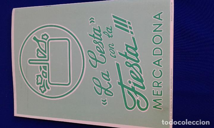 Carteles de Turismo: LLIBRET FALLA CONVENTO JERUSALEN -MATEMATICO MARZAL 1990 - Foto 7 - 162107158